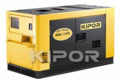 Power plant for the house, the dacha, a cottage, single-phase, the KDA19STAO diesel generator