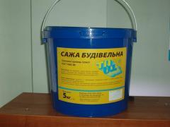 Технический углерод (сажа строительная) 5кг