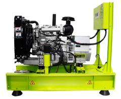 Diesel generator, power plant of Inter, 33 kVA