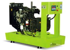 Diesel generator,  power plant of Perkins, ...