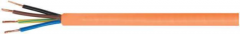 The cable is halogen-free, the increased safety, fire-resistant Flame NHXH FE180/E90