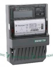 The electric power meter is three-phase, it is active / reactive Mercury 230 ART2