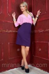 Платье верх розовый/ юбка фиолетовая  Платья для