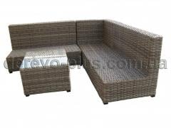 Garden an artificial rattan furniture