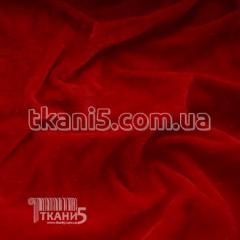 Велюр (Красный)