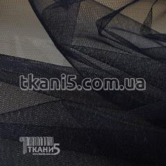 Ткань Фатин жесткий (темно-синий)