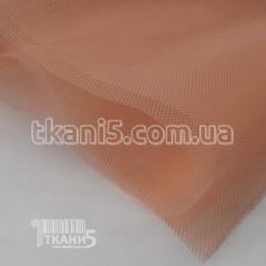 Ткань Фатин жесткий (персиковый)