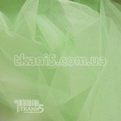 Ткань Фатин жесткий салат