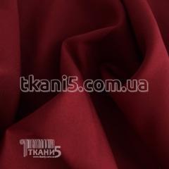Ткань Габардин (бордовый)
