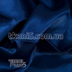 Satin-backed crepe (darkly blue)