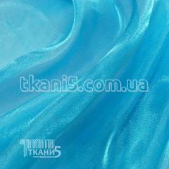 Ткань Органза (голубая бирюза ) 1246