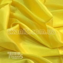 Satin-backed crepe (yellow)