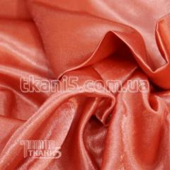 Satin-backed crepe (coral)