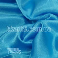 Satin-backed crepe (blue)