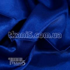 Satin-backed crepe (electro-blue)