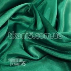 Satin-backed crepe (green)