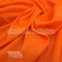 Satin-backed crepe (orange)