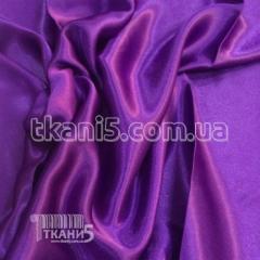 Satin-backed crepe (violet)