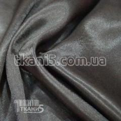 Satin-backed crepe (darkly gray)