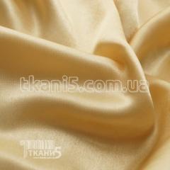 Satin-backed crepe (light gold)