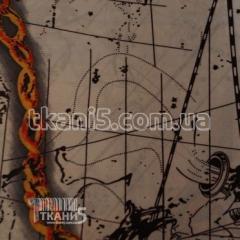 Ткань Подкладка Цепи