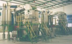 Installation for production of the egg powder
