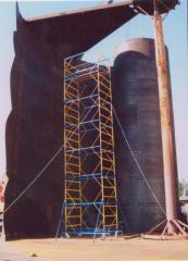 Tanks steel PBC100-5000 of