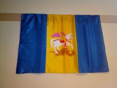 Flags of the areas of Ukraine: Kiev, Lviv, Kharkiv, Odessa and others