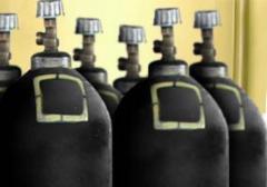 Liquid nitrogen and gaseous. Nitrogen liquid