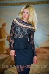Dress black from basky