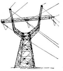 Опоры линий электропередач