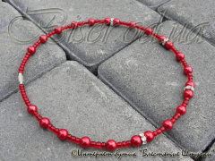 Crimson Decline necklace.