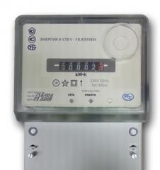 Electronic meters of the electric power