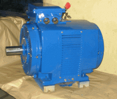 The electric motor 4AMNU 250M4 of the protected