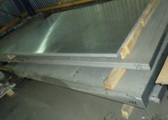 Плита алюминиевая 30 мм АМг5