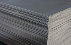 Rolling plate of carbon steel