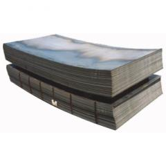 Steel, sheet, corrosion-resistant, double-layer