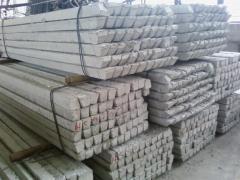 Columns of concrete goods