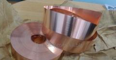 Лента медная М2 М3 0,05-2,0х10-600 мм ГОСТ 1173:2007