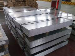 Zinc sheets 0,45, 1000, 2000