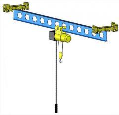 Cranes bridge g / p 1-50 tn