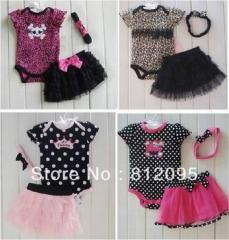 Sets for children of 16 Models Baby girl 3 pcs set