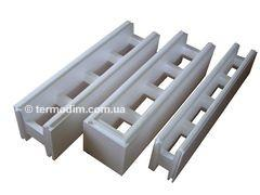 Timbering fixed of expanded polystyrene -