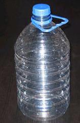 PET bottle, volume - 5 liters