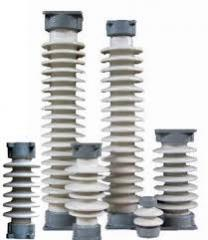 Insulators porcelain IOS, IPT, ShF, RVO, P, PS of