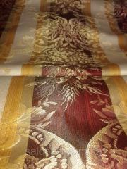 Портьерная ткань полутораметровая полоса - бодовая