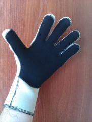 Gloves for diving
