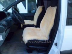 Cover car, sheepskin