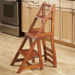 Step-ladder - a chair
