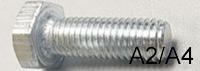 Болт нержавейка DIN 933 931 А2-А4